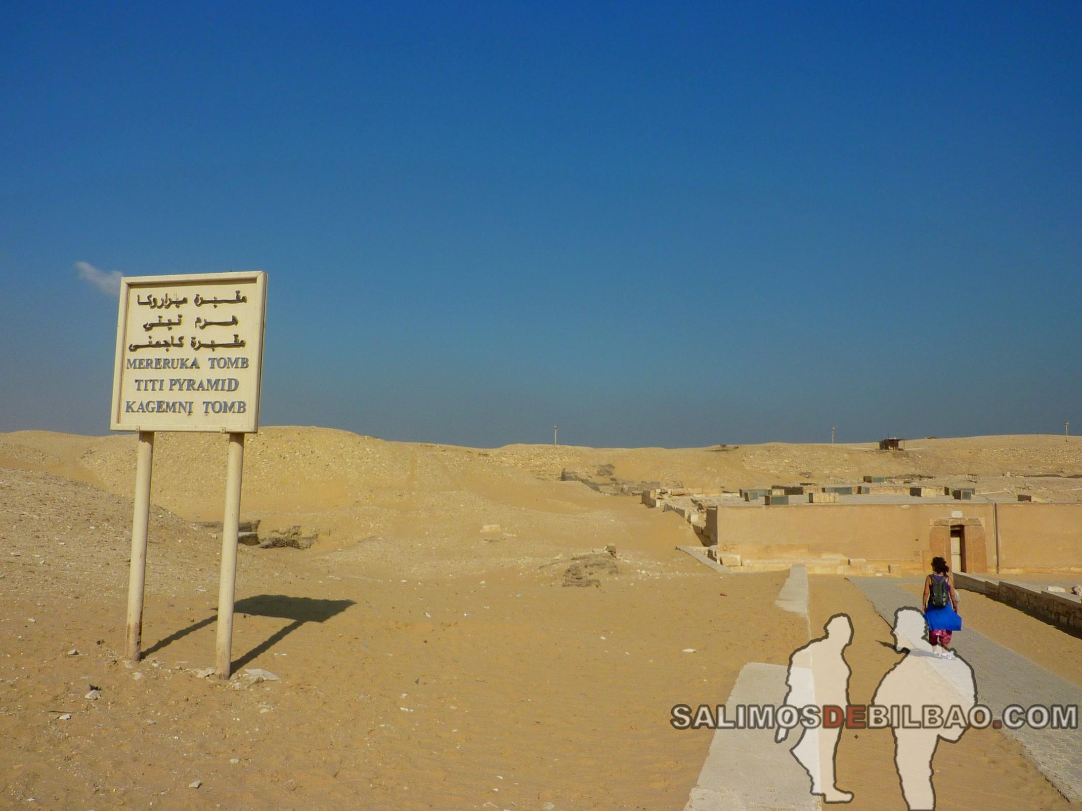 0348. Saioa, Complejo de la Pirámide de Titi, Saqqara