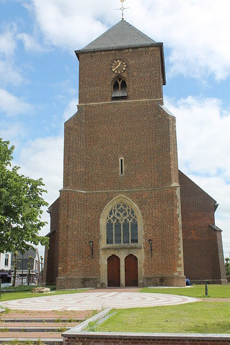 Tower of the Dutch Reformed Church in Neede