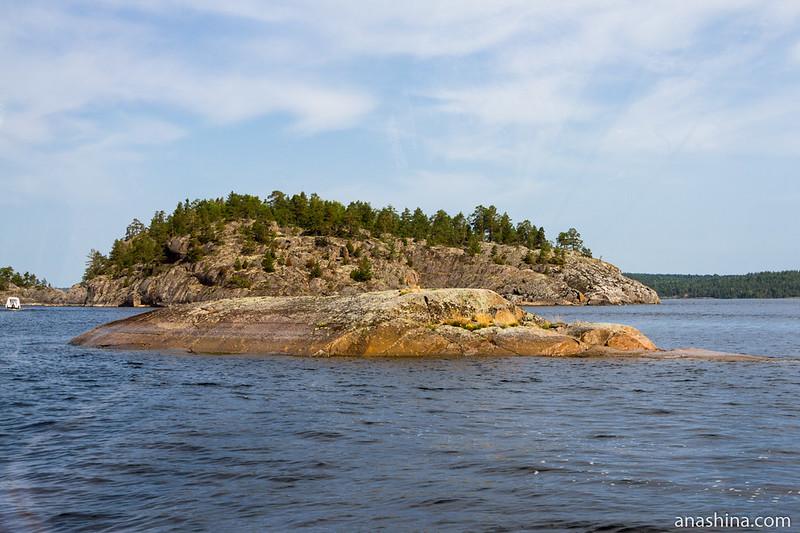 Скалистые островки, Ладожское озеро