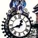 Queen Victoria Clock The Cotswolds Way England