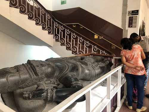 City Hangout - Vishnu's 16th Century Statue, National Museum