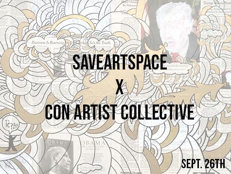ba44d8d865 Save Art Space + Con Artist Collective
