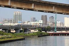 Tokaido Shinkansen line non-station shots