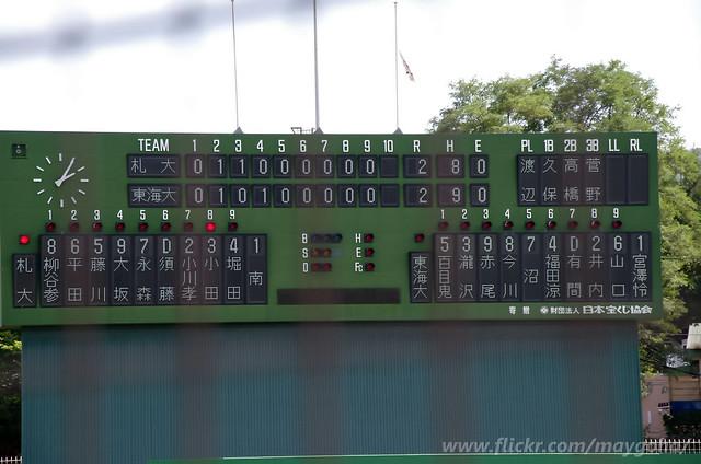 2018-0823_東海大北海道vs札幌大_417, Pentax K-5, Sigma 18-250mm F3.5-6.3 DC Macro HSM