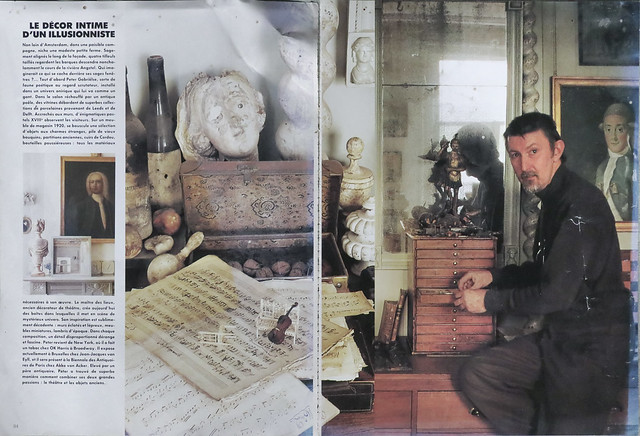 Peter Gabrielse - Article from French magazine in late 80's