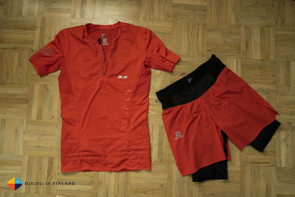 Salomon Exo Twinskin Shorts & S-Lab Exo Hz S/S Tee