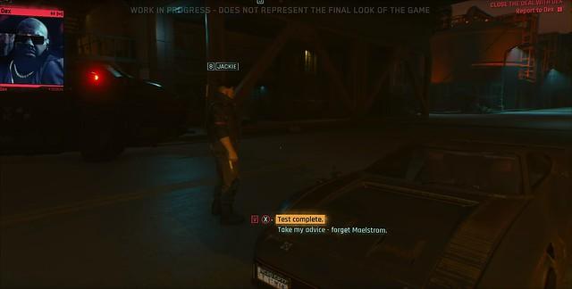 Cyberpunk 2077 - Параметри діалогу Dex