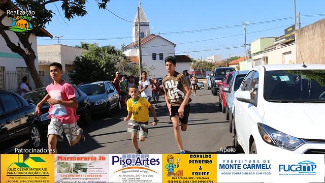 Terceira etapa do 3º Circuito de Corridas de Rua foi realizada em Monte Carmelo