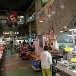 At the fish market off Kokusai Dori