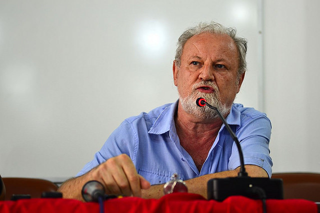 Landless Workers leader says casting a blank or null ballot is favoring coup-plotters, as it is a statement against change - Créditos: Rovena Rosa/Agência Brasil