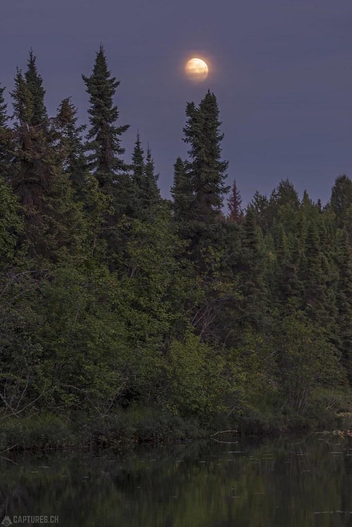 Moonrise - Alaska