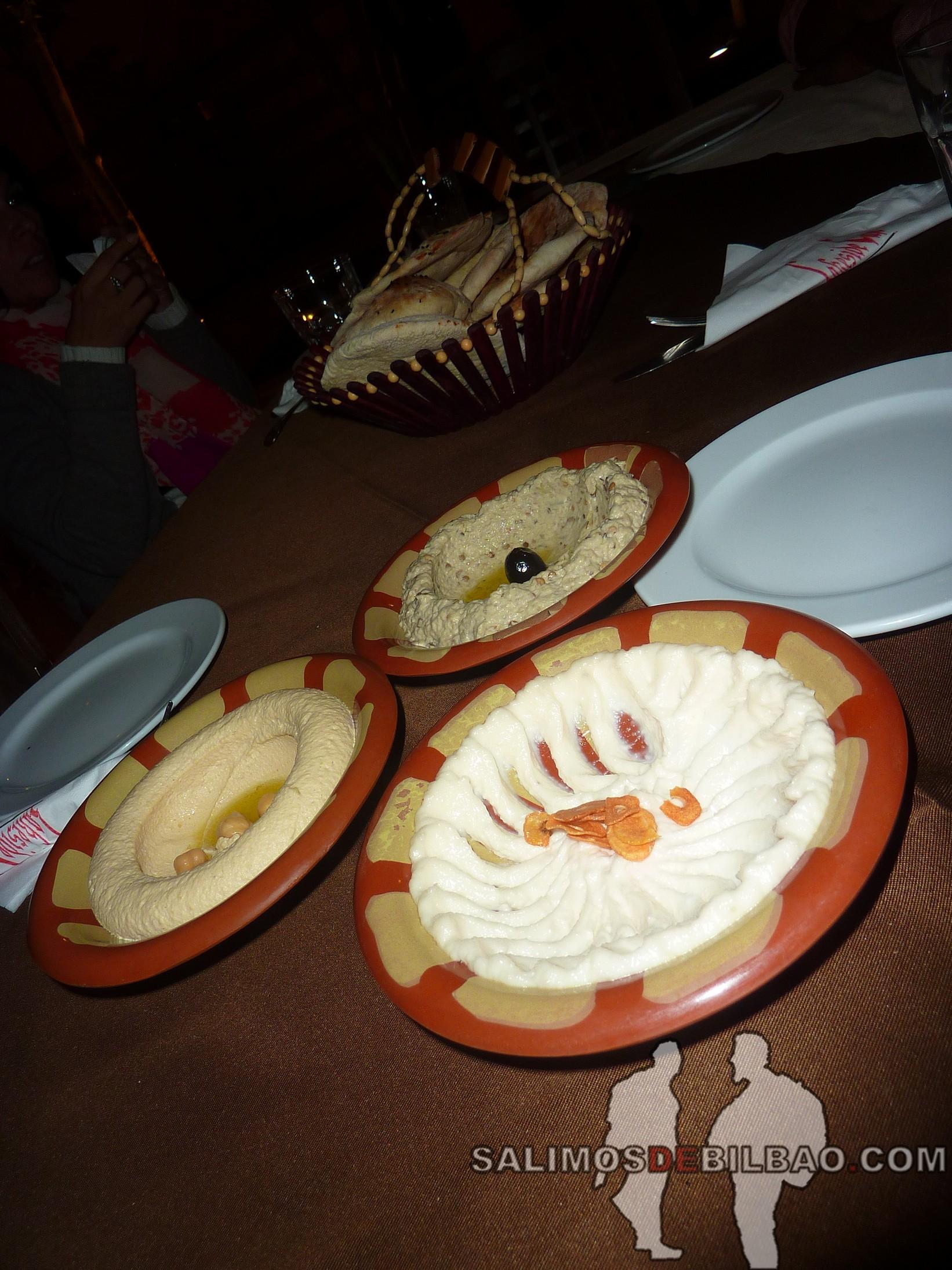 0390. Cena en el Restaurante Al-Qalaa, Parque Al-Azhar, Cairo