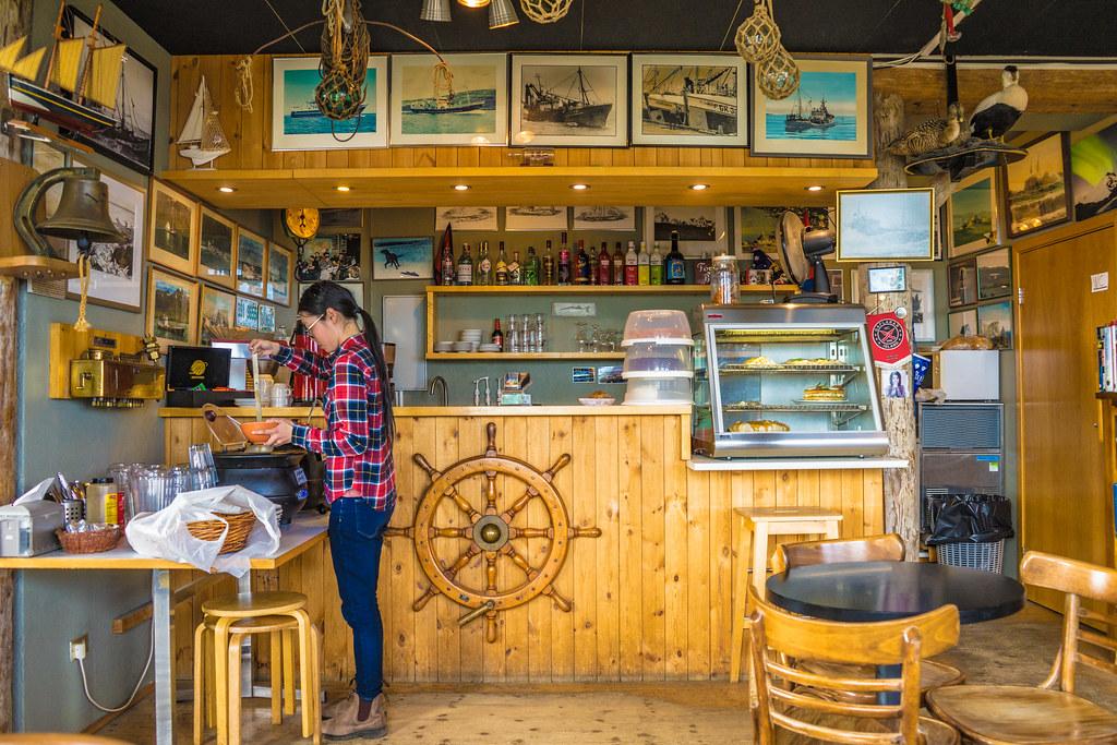 Café Bryggjan, in Grindavik