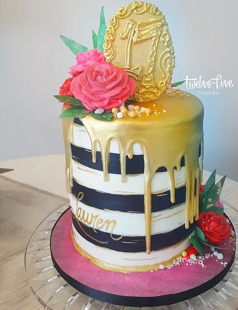 Cake by Twelve Five Cakery, llc