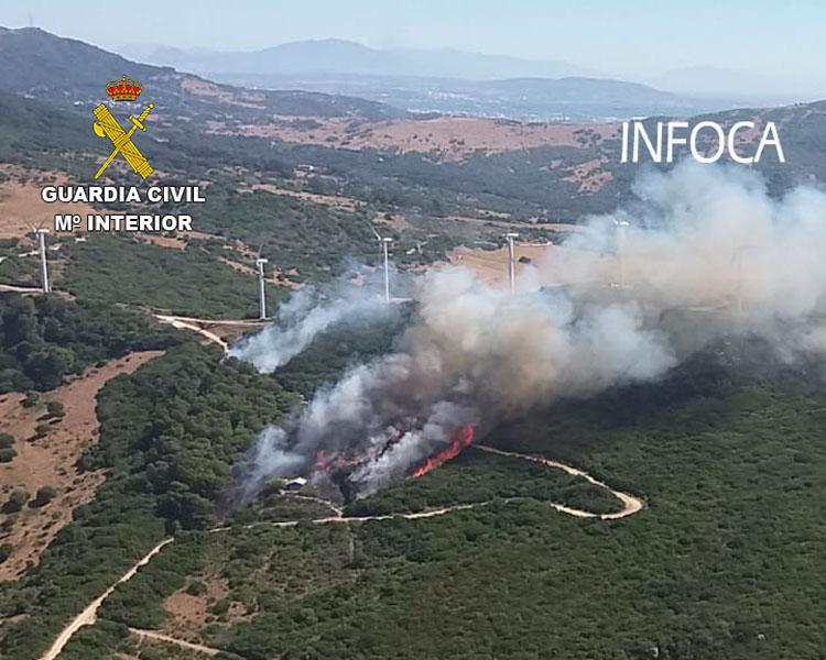 Incendio Tarifa del 201807281