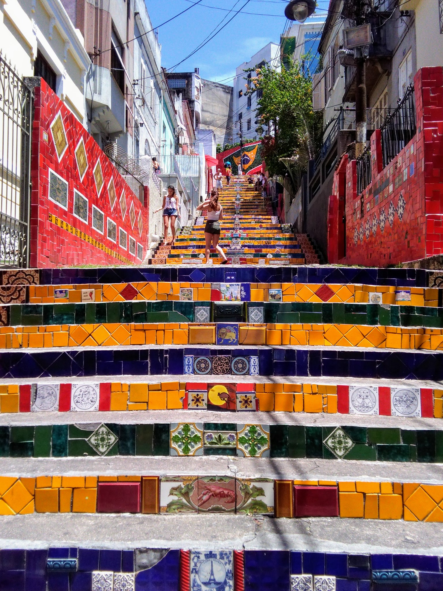 The Selaron Steps in Rio