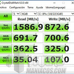 SSD NVME Kingston A1000, Test Velocidad en SO instalado