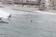Surfeando en invierno