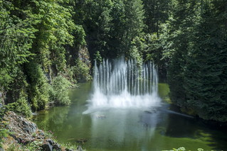Ross Fountains at Butchart Gardens on Vancouver Island-09 6-2-18