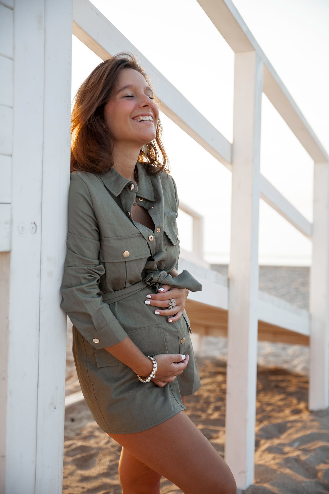 influencer happy spain new york hamptons style fashion blogger loavies new co autumn 2019 laura santolaria theguestgirl embarazada semana a semana loavies nueva coleccion otoño