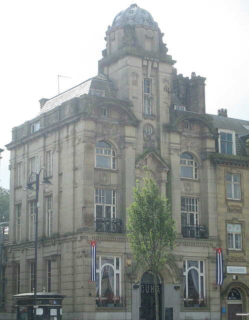 Cupola'd Building Rochdale Town Centre