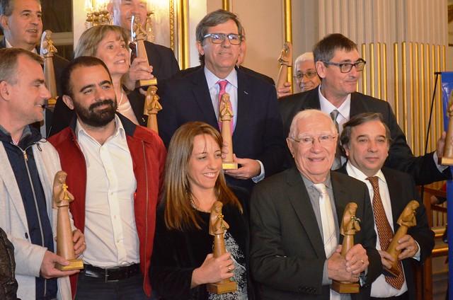 La fiesta de entrega de los premios Sta. Clara de Asís