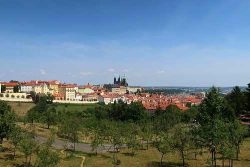 View of Hradčany. Prague, Czech Republic.