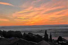 Lever de soleil - Photo of Auzat-la-Combelle
