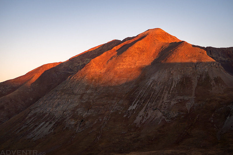 Animas Forks Mountain Sunrise