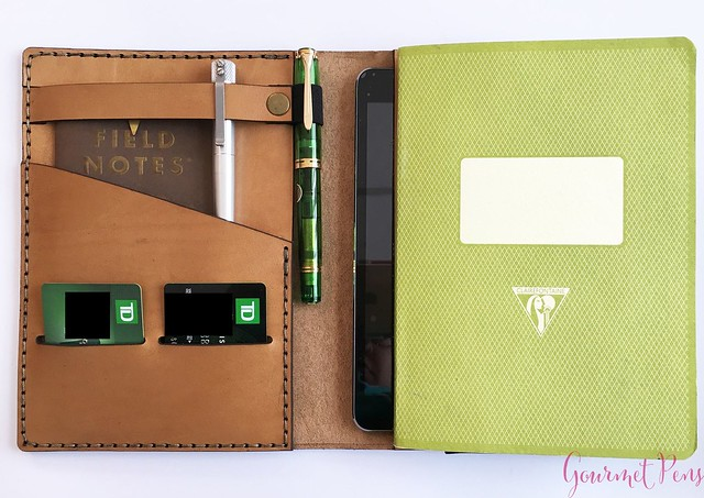 Galen Leather A5 Notebook Cover 10