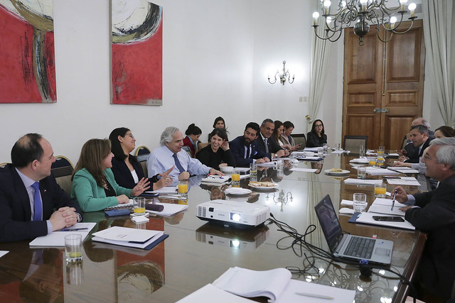 Reunión de trabajo Ministro Chadwick con Intendentes Regionales. 30.08.18