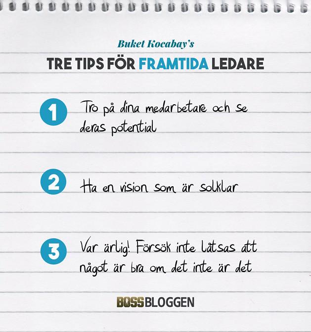 Tre Tips Buket Kocabay