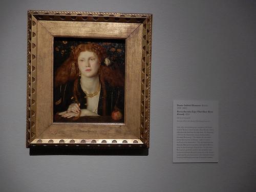 DSCN2731 - Bocca Bacciata - Dante Gabriel Rossetti, The Pre-Raphaelites & the Old Masters