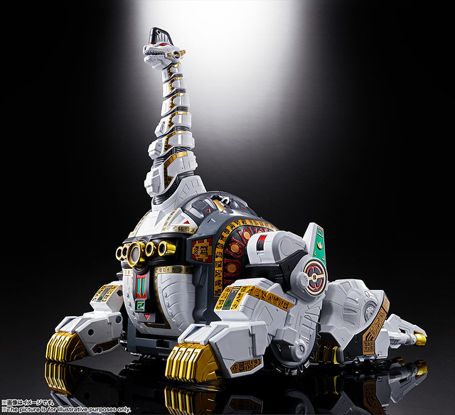 【新增官圖&販售資訊】超合金魂 《恐龍戰隊ZYURANGER》巨大獸騎神「帝王腕龍」情報公開!超合金魂 GX-85 キングブラキオン