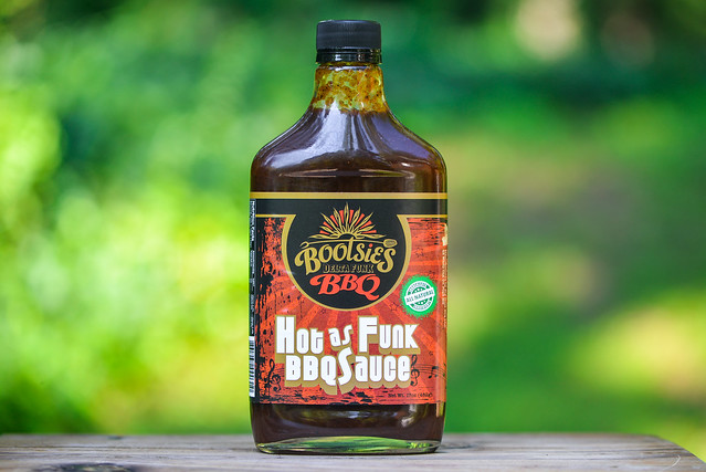 Bootsie's Hot as Funk BBQ Sauce
