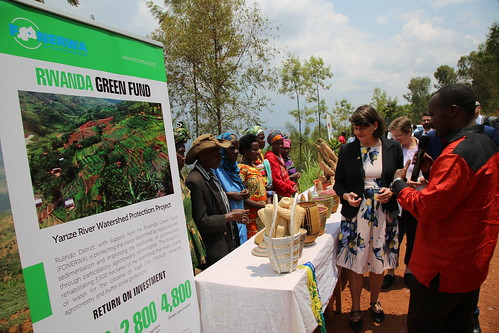 Visit by German Parliamentary State Secretary Dr Maria Flachsbarth to Yanze River Watershed Protection Investment