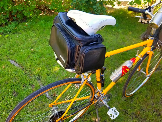 SEAT BAG OPTION IS A PADDED CAMERA BAG