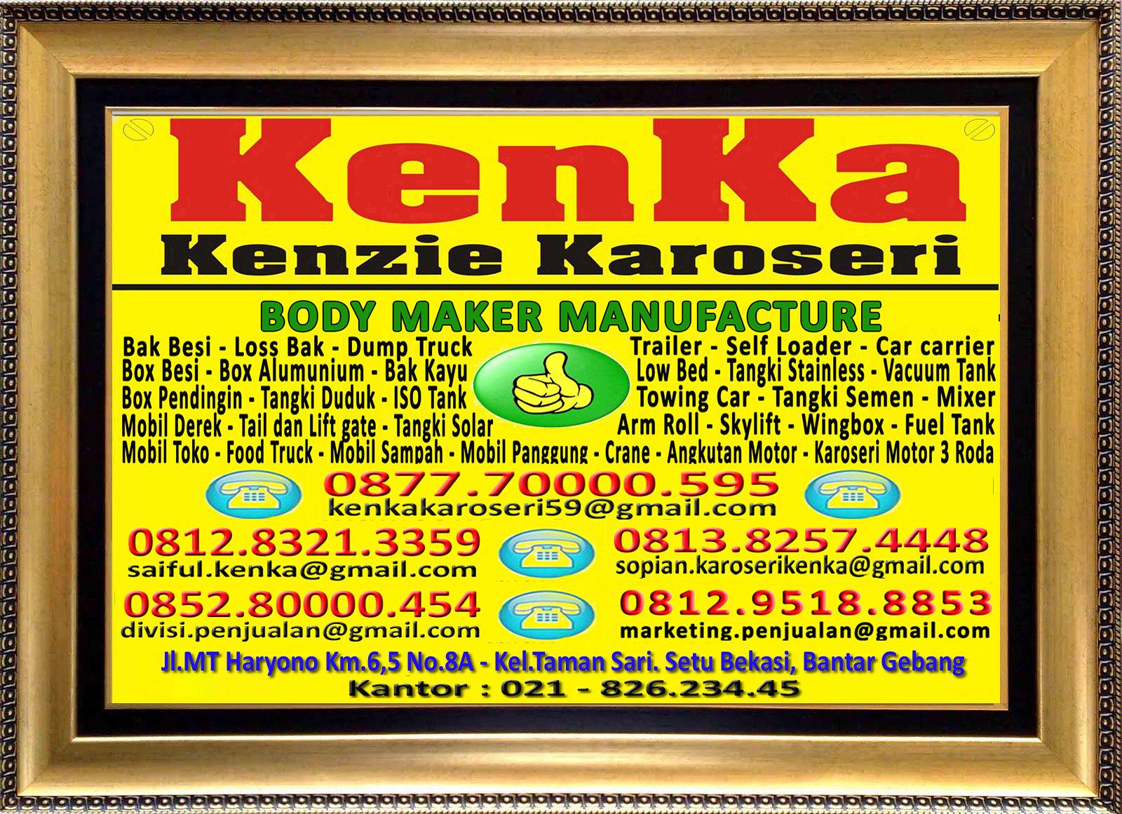 Karoseri Mobil & Truck KenKa - Nipo - Saiful - Sopian - Thamrin - Susi