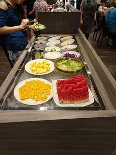 水果、沙拉