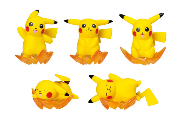 Nose-Chara Pokémon Pikachu Solo 10 Pieces Box