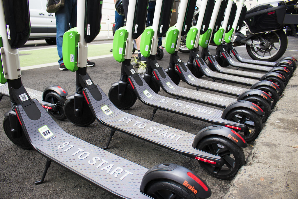 PBOT hosts Electric Scooter Safety Event