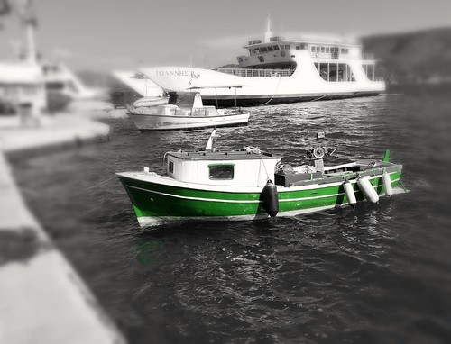 Poros fishing boat