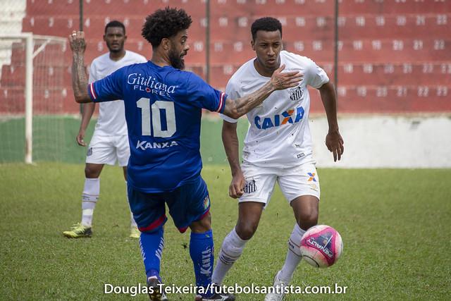 Santos 1 x 2 São Caetano. Jogo válido pela Copa Paulista de 2018, disputado no dia 15 de setembro, no estádio Ulrico Mursa