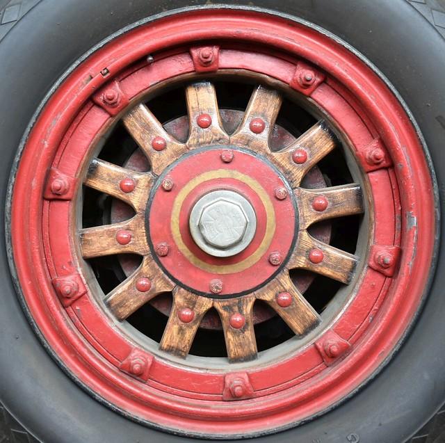 firetruck wheel