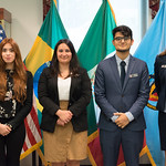 Thu, 09/20/2018 - 13:23 - On Thursday, September 20, 2018, the William J. Perry Center for Hemispheric Defense Studies honored General Salvador Cienfuegos Zepeda, Secretary of National Defense of Mexico, and Escola Superior de Guerra (ESG), National War College of Brazil, with the 2018 William J. Perry Award for Excellence in Security and Defense Education. Named after the Center's founder, former U.S. Secretary of Defense Dr. William J. Perry, the Perry Award is presented annually to individuals who and institutions that have made significant contributions in the fields of security and defense education. From the many nominations received, awardees are selected for achievements in promoting education, research, and knowledge-sharing in defense and security issues in the Western Hemisphere. Awardees' contributions to their respective fields further democratic security and defense in the Americas and, in so doing, embody the highest ideals of the Center and the values embodied by the Perry Award.