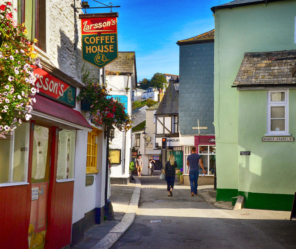 Buller Street, East Looe, Cornwall. Credit Baz Richardson, flickr