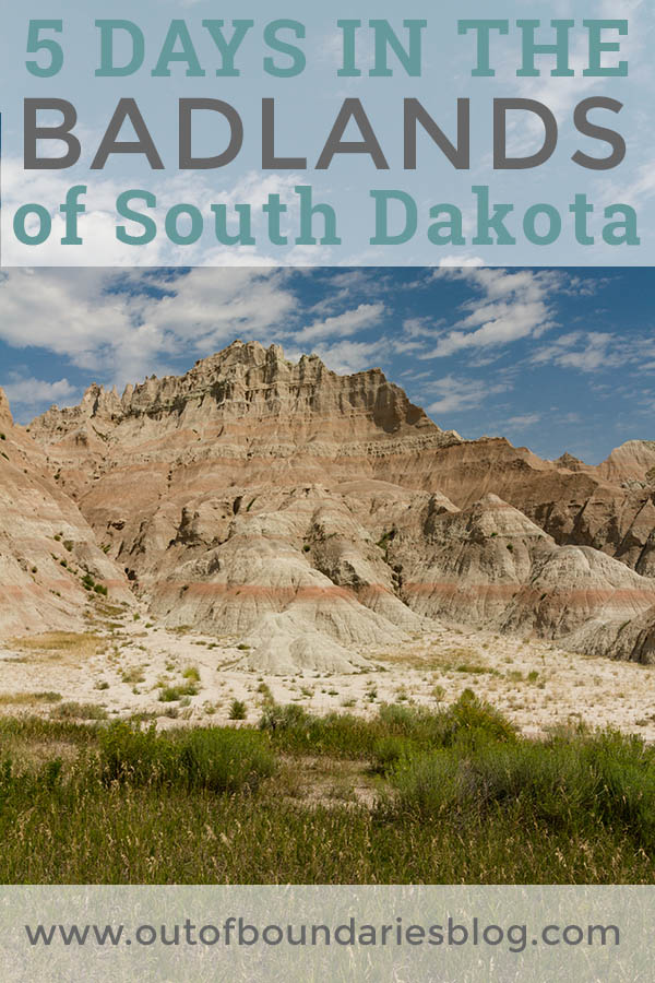 Five days exploring Badlands National Park in South Dakota with our family of four! #fulltimeRVers #fulltimeRV #fulltimetravel #BadlandsNPS #SouthDakota #NationalParks