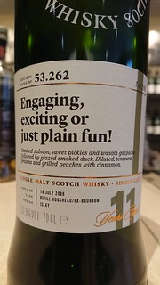 SMWS 53.262 - Engaging, exciting or just plain fun!