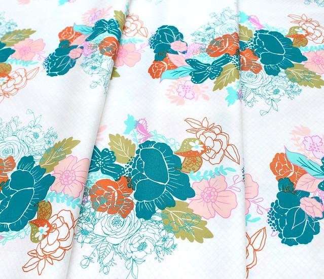 Art Gallery Fabrics Virtuosa Flowerdrama Mattina