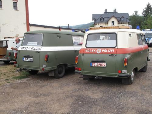 Fahrzeuge der Deutschen Volkspolizei, DDR